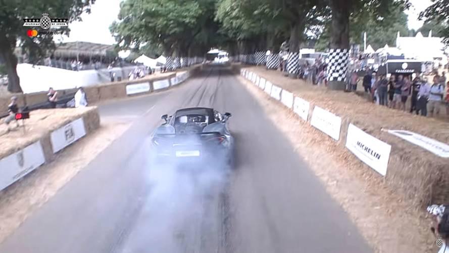 McLaren 600LT Debut At Goodwood