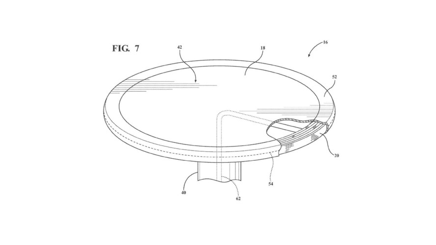 Ford Patented Retractable Table With Airbag For Autonomous Cars
