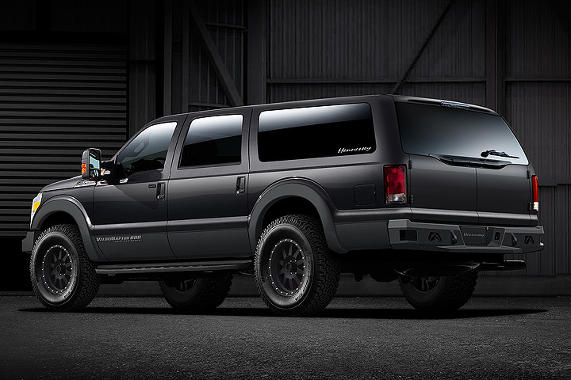 It's Alive! Hennessey Transforms Ford F-250 into VelociRaptor SUV