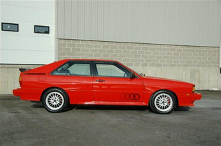 Auction Car of the Week: 1983 Audi Quattro