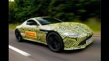 2018er Aston Martin Vantage erwischt