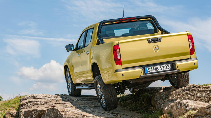 Mercedes Reveals New X-Class Pickup