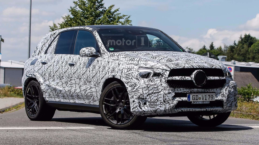 2020 Mercedes-Benz GLE 63 AMG Spied For The First Time
