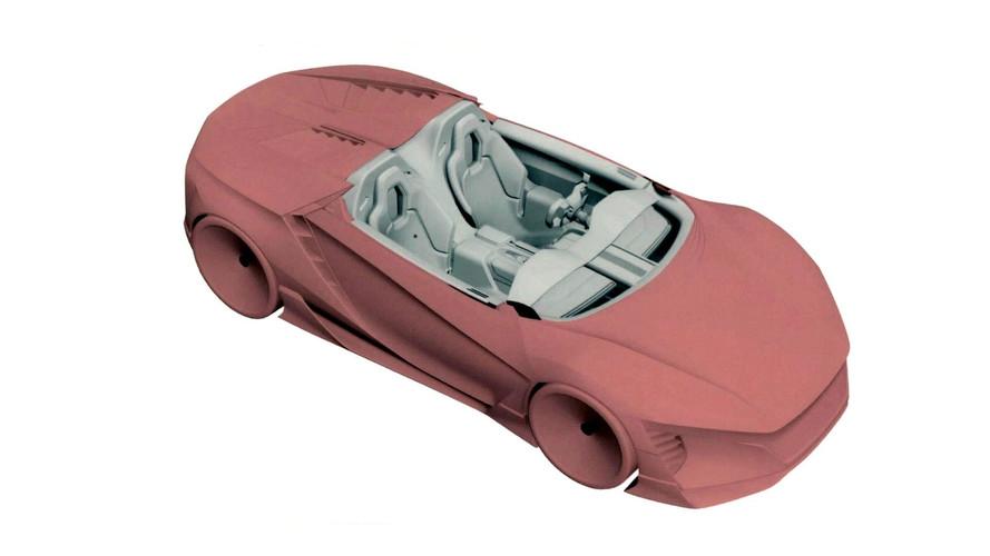 Maquette concept-car Honda ZSX