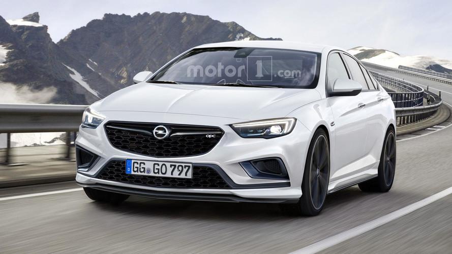 Opel Insignia OPC 2018, ¿será así la berlina deportiva de Opel?