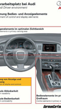 Audi Driver environment