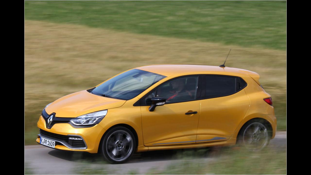 Renault Clio R.S. 200 EDC: 6,7 Sekunden