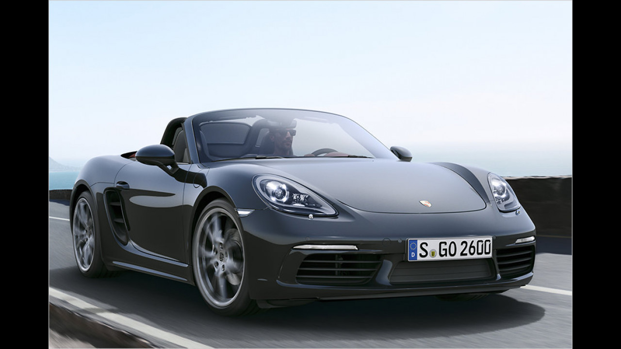 Platz 5: Porsche 718 Boxster, 442 Neuzulassungen