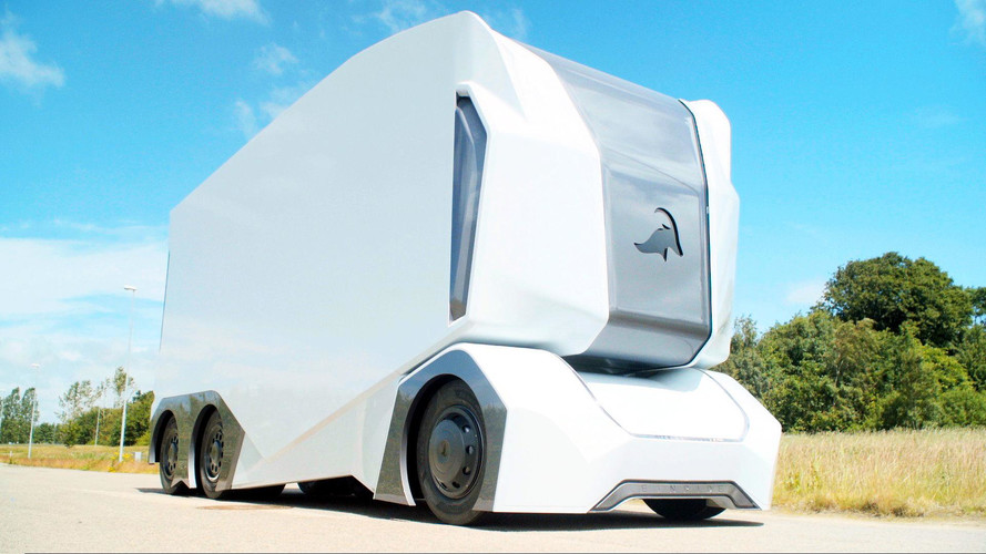 This Autonomous Electric Truck Leaves No Room For Humans