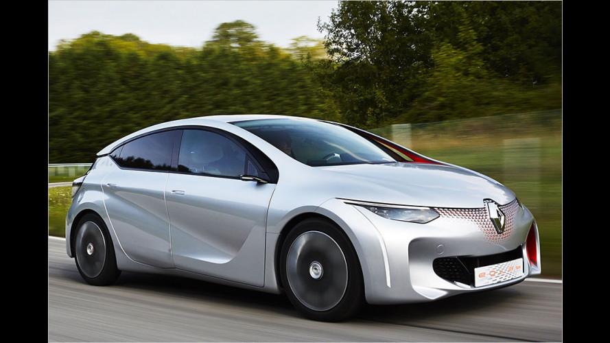Französisches Ein-Liter-Auto mit Hybridantrieb