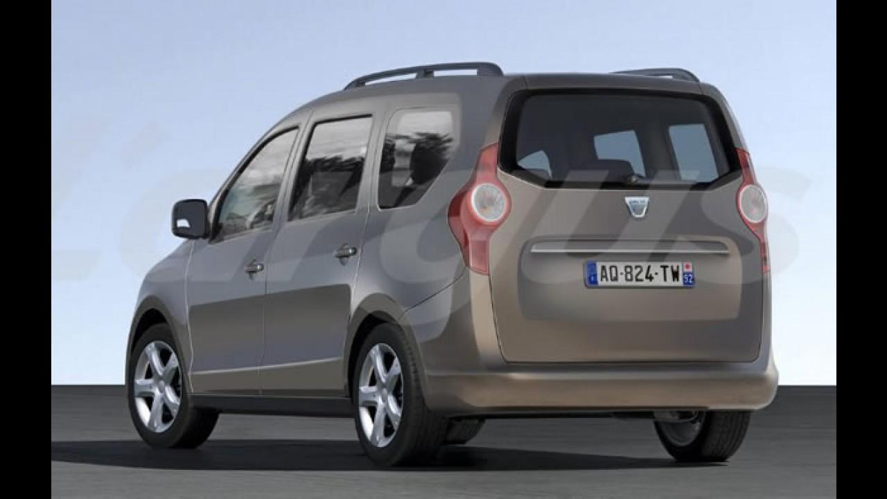 Popster? Dacia prepara minivan de sete lugares