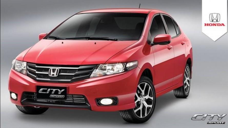 Esportivo de butique, Honda City ganha versão Sport por R$ 56.470