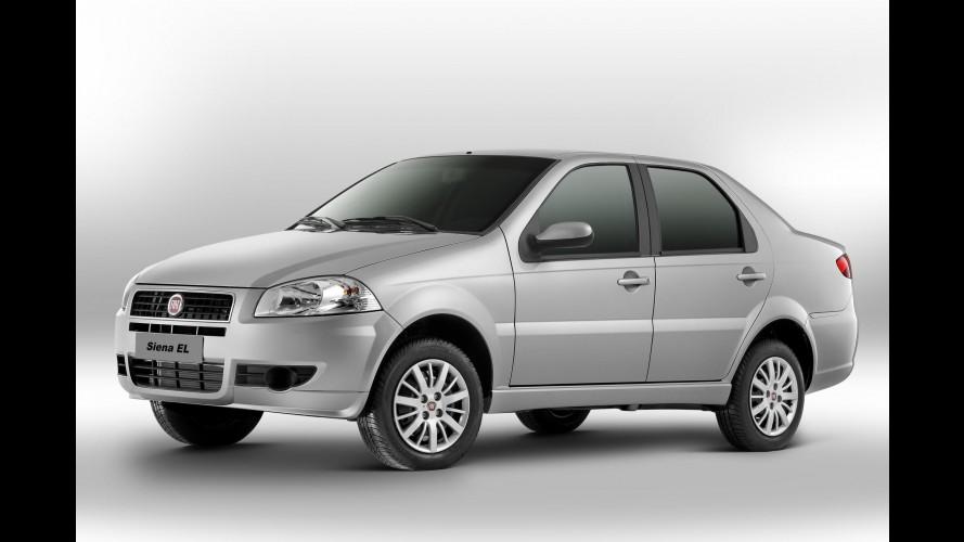 Fiat Siena EL sofre redução nos preços, mas perde a direção hidráulica de série