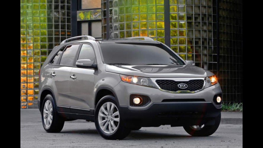 Novo Kia Sorento chega dia 21 de maio com preços entre R$ 96.900 e R$ 124.900