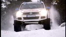 Vídeo: neve vira diversão para o Volkswagen Snowareg