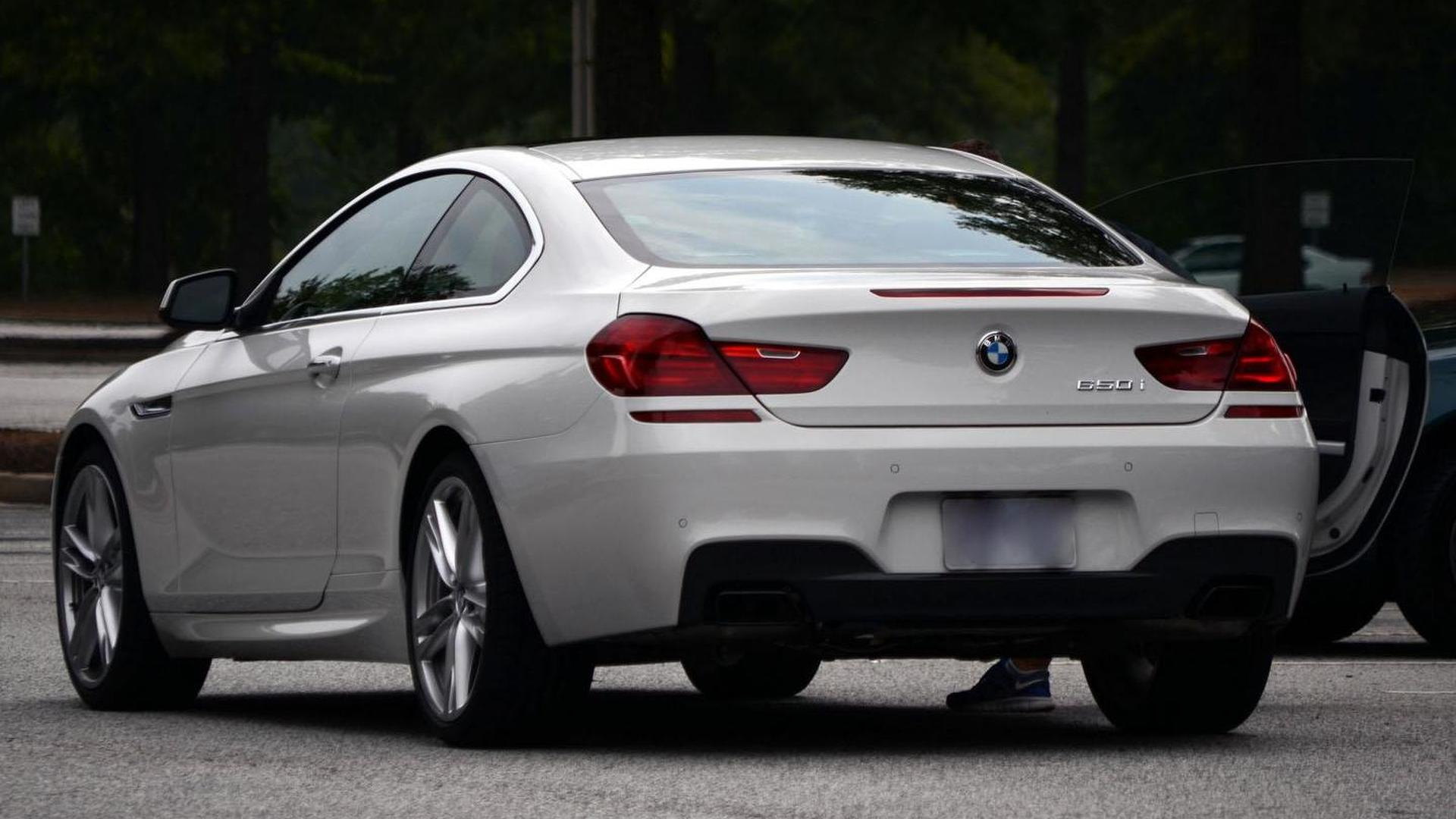 BMW Series With M Pack Caught In Public - Bmw 6 series 2011