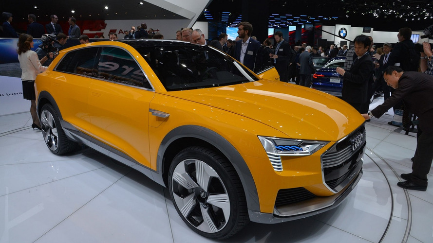 Audi bets on hydrogen with H-Tron Quattro Concept in Detroit