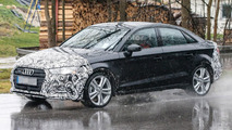 Audi A3 facelift spy photo