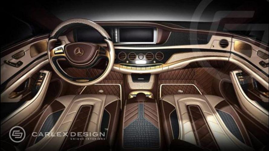 Mercedes Classe S, lussosi interni firmati Carlex Design