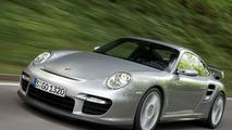 Porsche GT2 in rapid motion