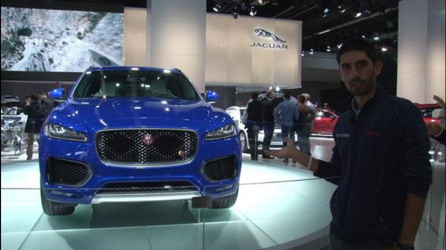 Salone di Francoforte: Jaguar F-Pace, buona la prima [VIDEO]
