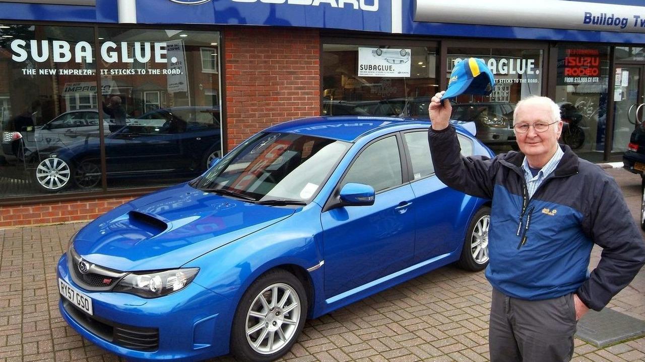 Ron Billingham keeps on buying Imprezas