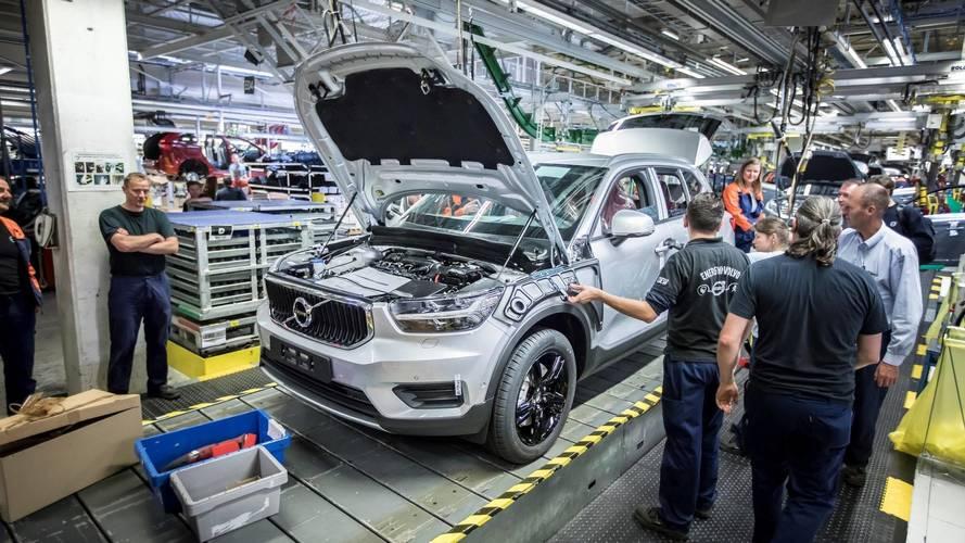 No Brasil em 2018, Volvo XC40 tem produção iniciada na Bélgica