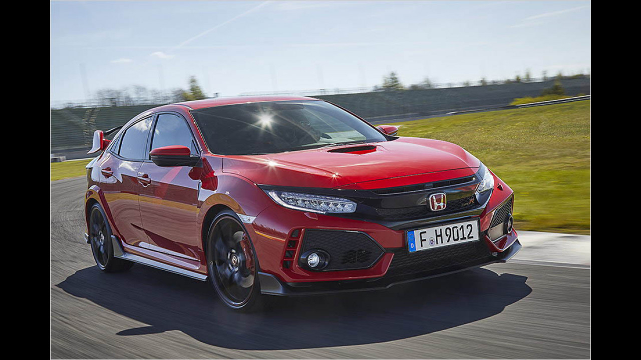Women's World Performance Car of the Year 2017: Honda Civic Type R