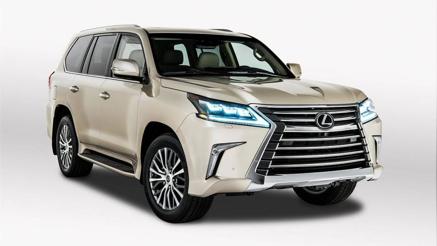 Most Expensive 2018 Lexus LX 570 Two-Row Costs $86,572