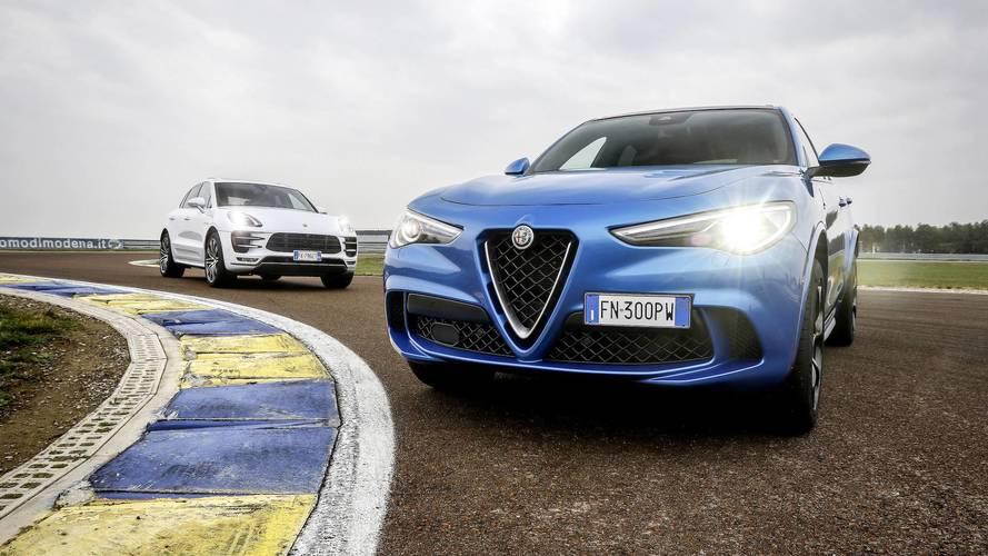 Comparativo: Alfa Romeo Stelvio Quadrifoglio encara Porsche Macan Turbo