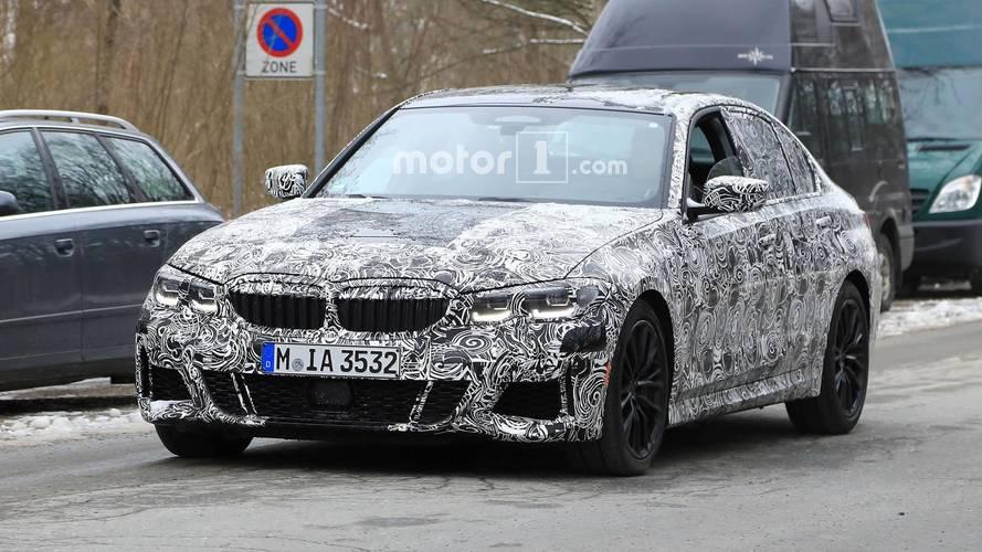 La future BMW Série 3 montre un peu plus sa silhouette