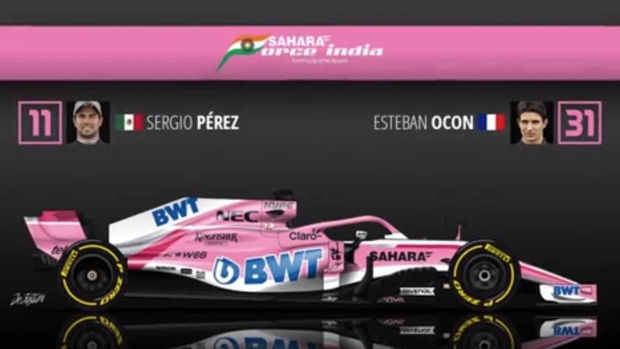 Check Out The 2018 F1 Spotter's Guide
