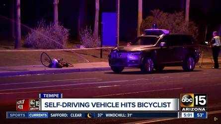 Önvezető módban gázolt halálra egy kerékpárost az Uber egyik autója