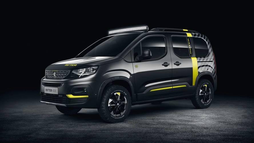 Peugeot Rifter 4x4 Concept - Le goût de l'aventure !