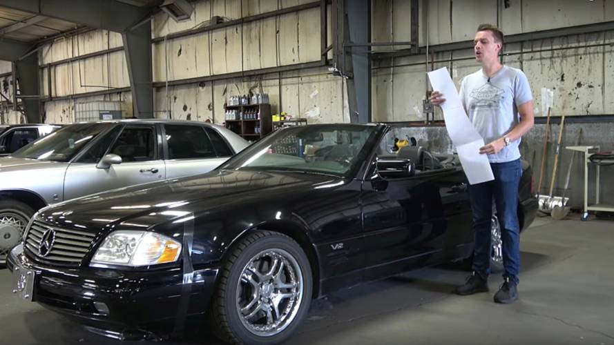 This Is What It's Like To Own A $5,000 Mercedes SL600