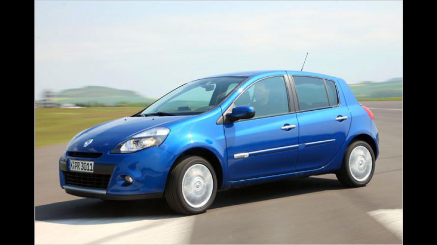 Renault Clio Expression: Etwas sparsamer und etwas teurer