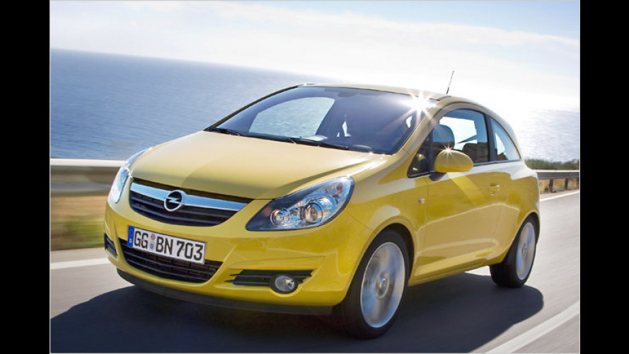 Opel Corsa Limited: 70-PS-Sondermodell für 8.990 Euro