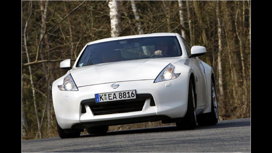 Dreieck auf Speed: Unterwegs im neuen Nissan 370Z