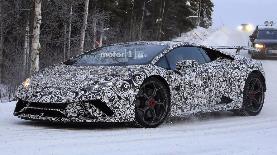 Lamborghini Huracan Performante aero sırlarını Cenevre'de açıklayacak