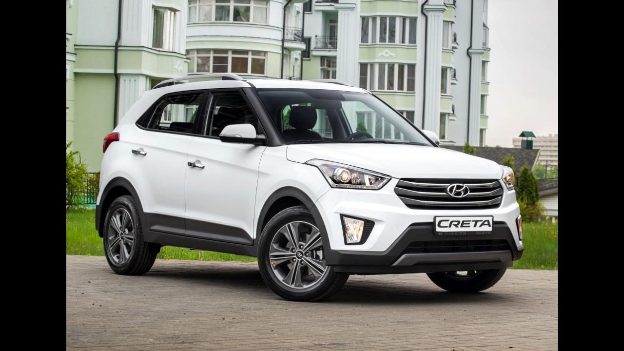 Hyundai anuncia investimento de US$ 130 milhões para produzir Creta no Brasil