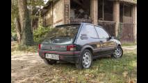 Peugeot 205 GTi prima del restauro