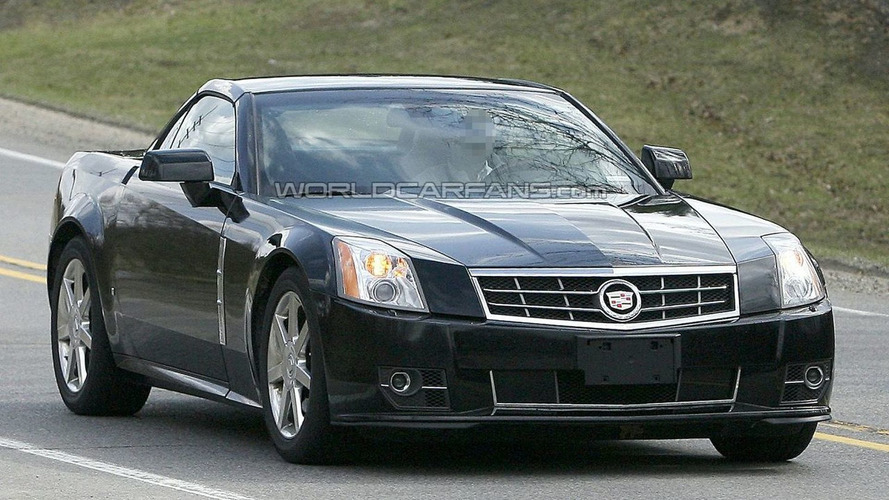 2009 Cadillac XLR Facelift Spy Photos