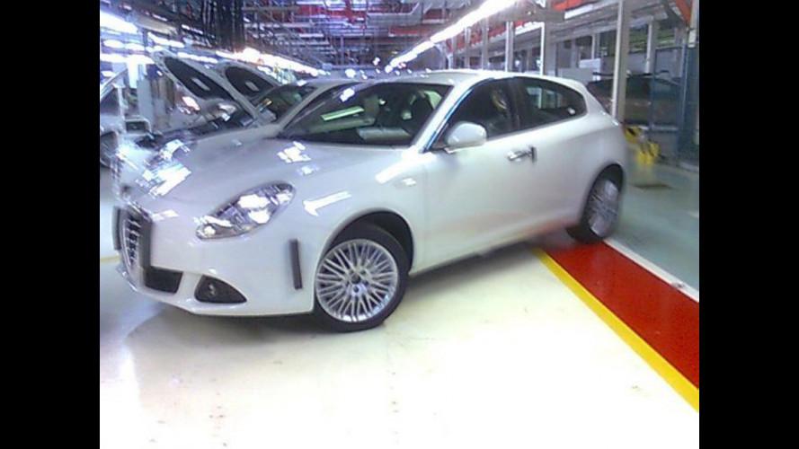 Alfa Romeo Giulietta: la prima foto