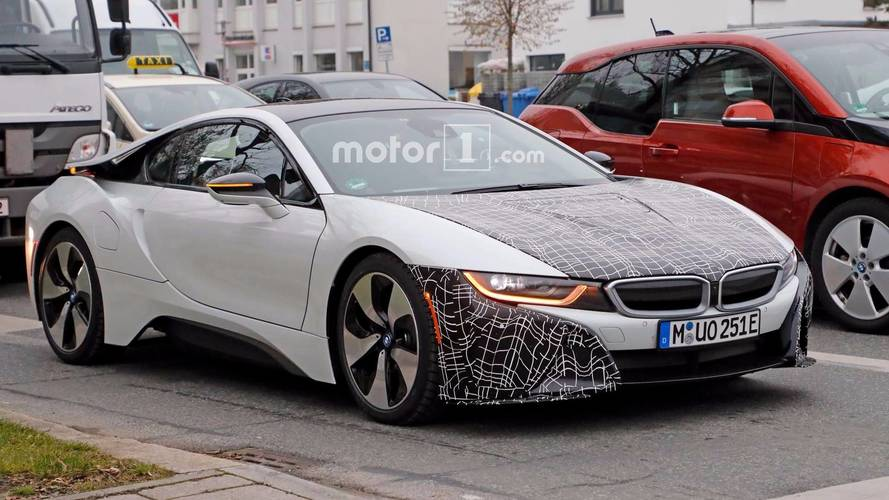 BMW i8 Spied With Subtle Aero Tweaks, Could be Rumored S Model