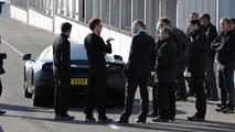 Jenson Button, Lewis Hamilton, on track with McLaren MP4-12C, Woki, England, 18.03.2010