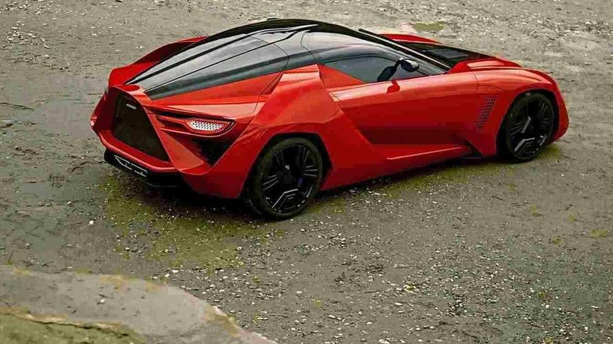 ZR1 based Bertone Mantide sells for £1.2 million
