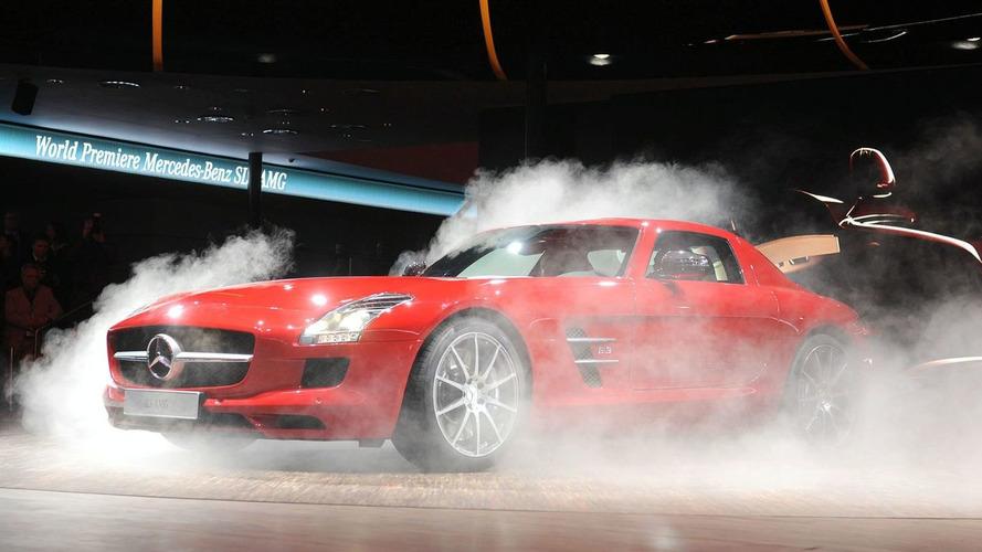 Mercedes SLS AMG in the Flesh at 2009 IAA