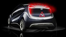 EDAG Light Car Concept design sketches