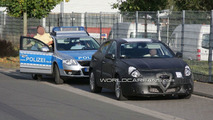 Alfa Romeo Milano Prototype Spied During Police Stop 09.30.2009