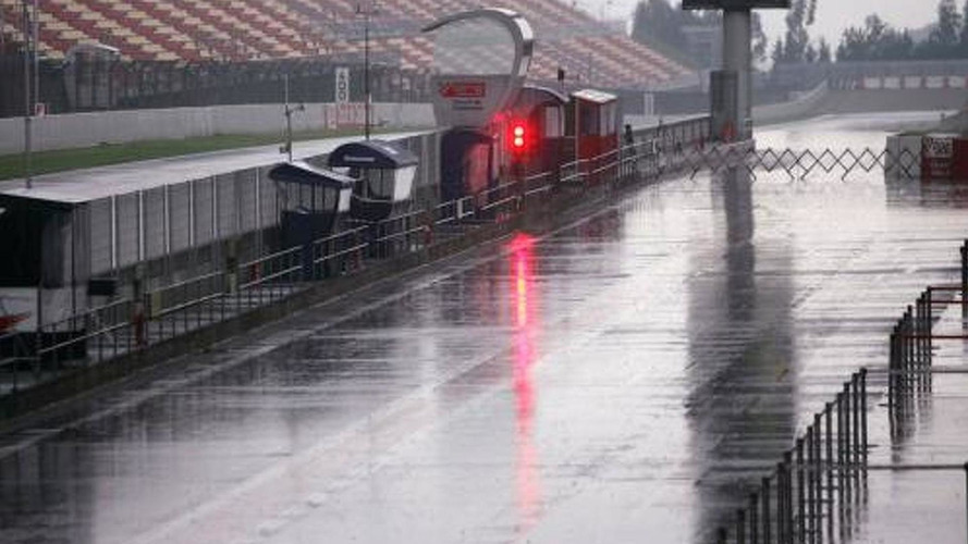 Yet another wet F1 weekend possible in Spain